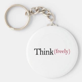 Denken Sie frei Schlüsselband