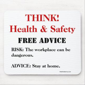 Denken Sie Gesundheit und Sicherheit! - FREIER RAT Mousepads