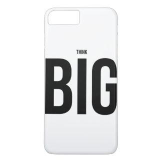 Denken Sie GROSSES iPhone 8 Plus/7 Plus Hülle