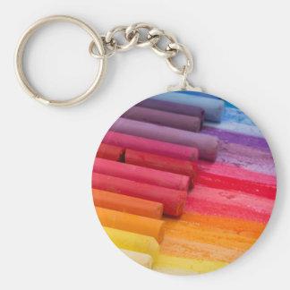 denken Sie in der Farbe Schlüsselanhänger