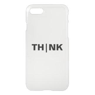 DENKEN Sie kundenspezifischen iPhone 7 Clearly™ iPhone 8/7 Hülle