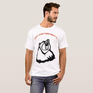 Denken Sie nicht einmal an es verärgerten T-Shirt
