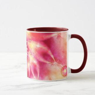 Denken Sie Rosa Tasse