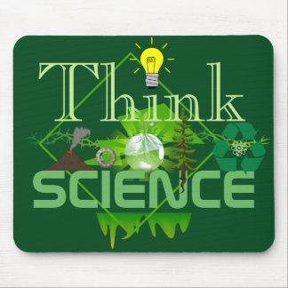 Denken Sie Wissenschaft! Mousepad