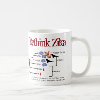 Denken Sie Zika Tasse durch RoseWrites über