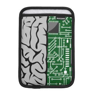Denkende binäre High-Teche menschliches Gehirn