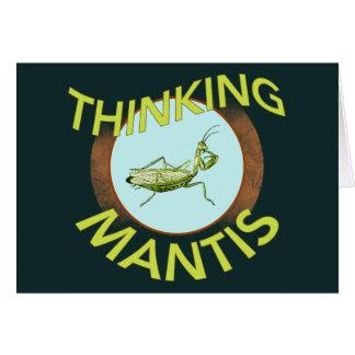 Denkender Mantis Karte