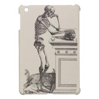 Denkendes Skelett iPad Mini Hülle