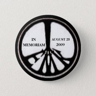Denkmal-Button Ted Kennedy Runder Button 5,1 Cm