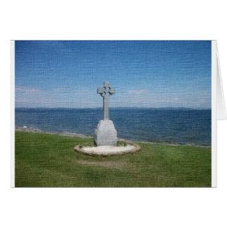 Denkmal des keltischen Kreuzes Karte