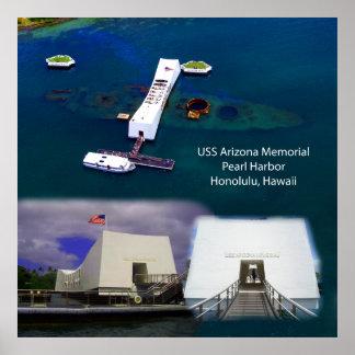Denkmal USSs Arizona, Pearl Harbor sieht Plakat an