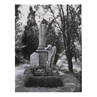 Denkmal zu Wolfgang Amadeus Mozart Postkarte