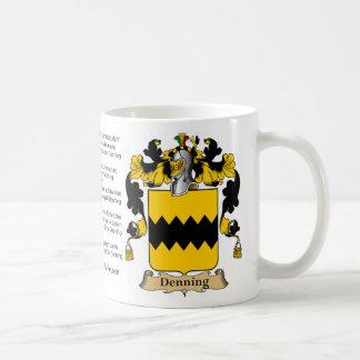 Denning Familien-Wiedersehen Kaffeetasse