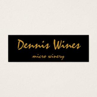 Dennis-Weine Mini Visitenkarte