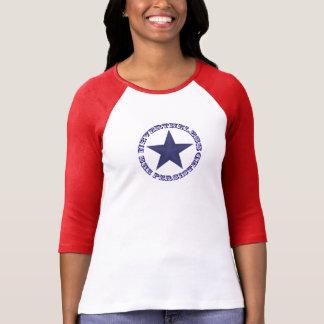 Dennoch bestand sie Sternraglan-T-Stück fort T-Shirt