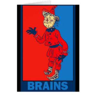 Denslows Zauberer von Oz: Gehirne Karte