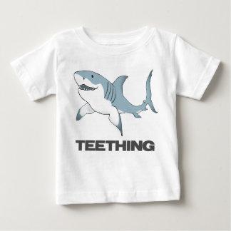 Dentitionshaifisch-Säugling T Baby T-shirt