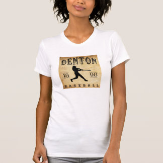 Denton Texas Baseball 1898 T-Shirt