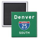 Denver 25 quadratischer magnet