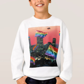 Denver-Fliegen-Stolz Sweatshirt