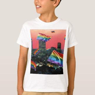 Denver-Fliegen-Stolz T-Shirt