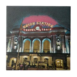 Denver-Gewerkschafts-Station Fliese