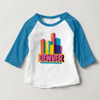 Denver im Entwurf Baby T-shirt