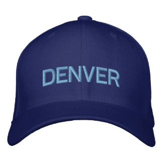 Denver-Kappe Bestickte Kappe