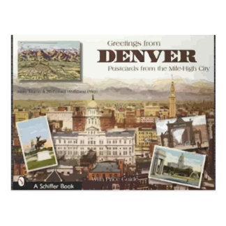 Denver-Postkarten von der Meile-En-hoh Stadt, Postkarte