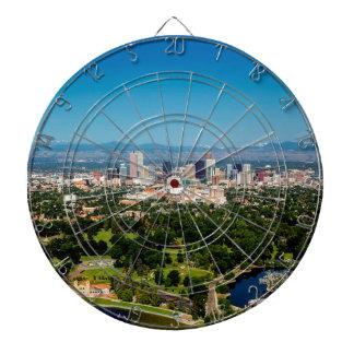Denver-Skyline Dartscheibe