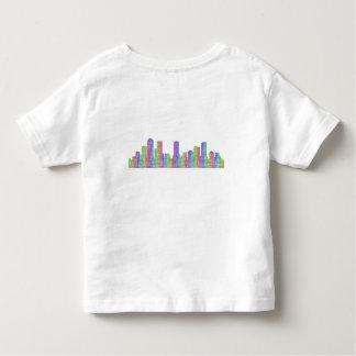 Denver-Stadt-Skyline Kleinkind T-shirt