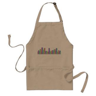Denver-Stadt-Skyline Schürze