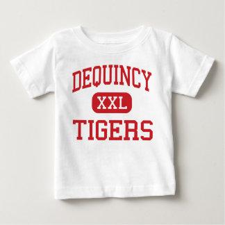 DeQuincy - Tiger - hoch - DeQuincy Louisiana Baby T-shirt