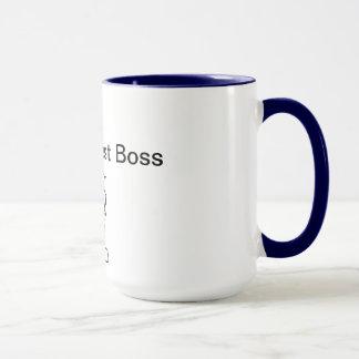 Der 2. beste Chef der Welt Tasse