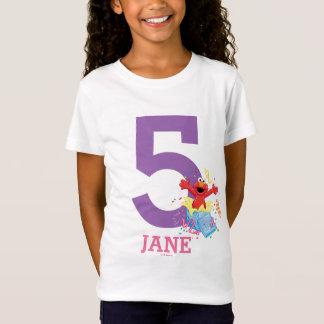 Der 5. Geburtstag des Mädchens des Sesame Street-| T-Shirt