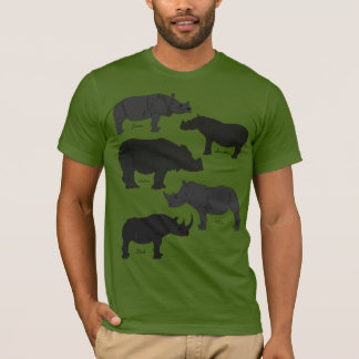 Der 5 Rhinos-T - Shirt