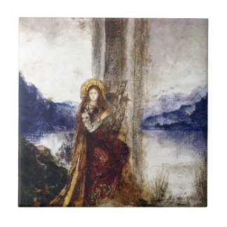 Der Abend durch Gustave Moreau Keramikfliese