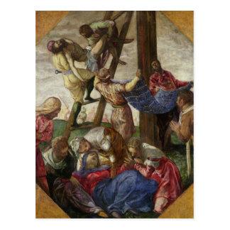 Der Abfall vom Kreuz, c.1560-65 Postkarte