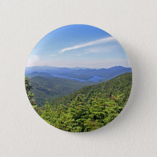 Der Adirondacks, New York Runder Button 5,7 Cm