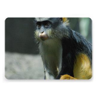 Der Affe des Wolfs Individuelle Einladungskarte