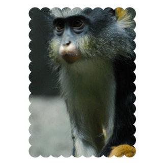 Der Affe des Wolfs Personalisierte Einladungskarten