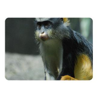 Der Affe des Wolfs Einladungskarte