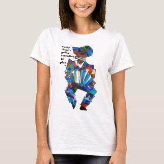 Der Akkordeonspieler T-Shirt