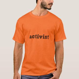 """""""Der Aktivist"""" der Männer T-Stück T-Shirt"""