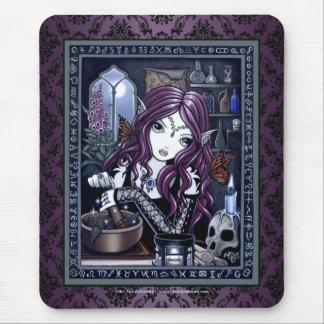 """Der Alchemist"" gotischer magischer feenhafter Mousepad"