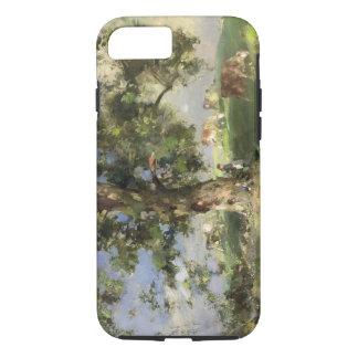 Der alte Aschen-Baum (Öl auf Leinwand) iPhone 8/7 Hülle
