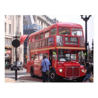 Der alte Bus Postkarte