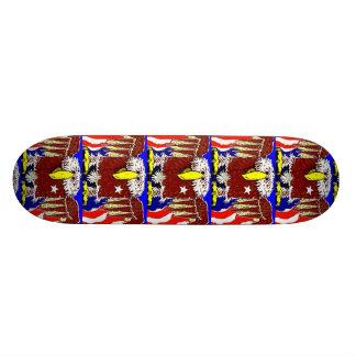 Der amerikanische Adler-Flyer 18,1 Cm Old School Skateboard Deck