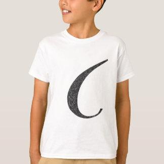 """Der amerikanische Buchstabe """"C """" T-Shirt"""