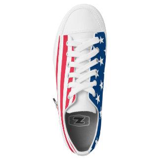 Der amerikanische Geist in jedem Schritt Niedrig-geschnittene Sneaker
